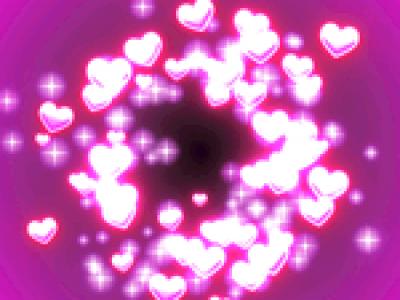 戦闘・イベント用エフェクト「全画面ハートとキス」