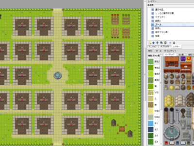 pictSQUARE(ピクスク)イベント会場背景テンプレートマップファイル配布